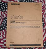 Caterpillar 3406B (PEEC) Truck Engine Parts Manual (8TC1413-UP)