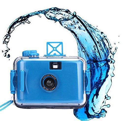 ClodeEU_Accessoires de téléphonie mobile ClodeEU❤❤Caméra sous-Marine étanche Mini 35mm Film Violet (Bleu)