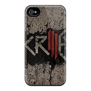 Iphone 4/4s Ker11457pfbr Provide Private Custom HD Skrillex Dubstep Wallpaper Pattern Shock-Absorbing Hard Phone Covers -JasonPelletier