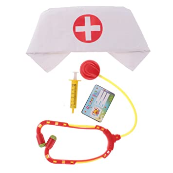 Party Stethoscope Props Fancy Dress Accessory Cosplay for Nurse Doctor Costume