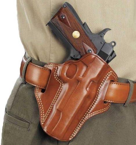 "Galco Combat Master Belt Holster, Colt 1911 5"" Tan, Left Hand - CM213"