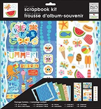 Amazon Com Me My Big Ideas 12 Inch By 12 Inch Scrapbook Page Kit
