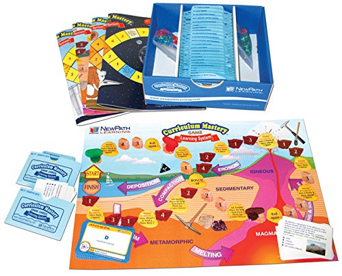 NewPath Learning Middle School Earth Science Skills Game