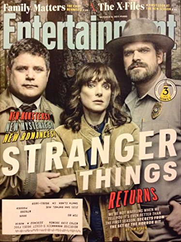 Entertainment Weekly Magazine (October 6, 2017) Stranger Things Returns Adults Cover 2 of 3