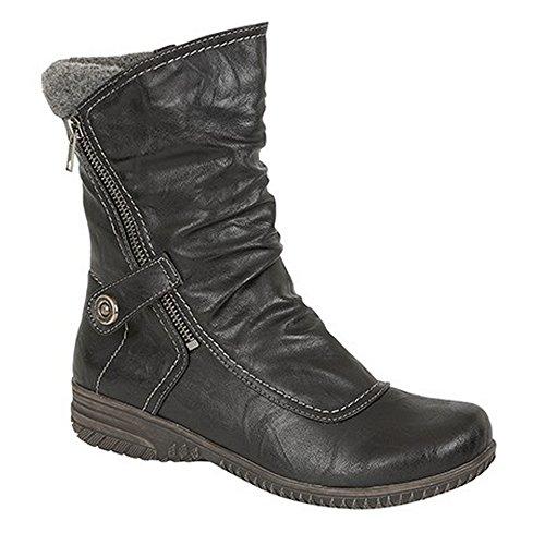 Womens 14 Eye Zip Boot - 7