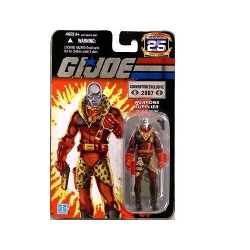 (GI JOE Hasbro 25th Anniversary 3 3/4 '2007 Comic-Con Exclusive Action Figure Leopard Print Destro [Silver Head ...)
