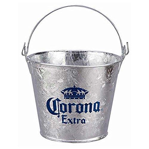 Corona Beer Bucket - Corona Extra Ice Beer Bucket With Built In Bottle Opener