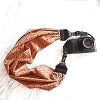 Mimi Green Arrow Scarf DSLR Camera Strap