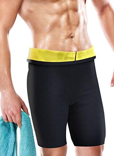 4 opinioni per beautytherm sl111N Pantaloni Uomo dimagrante, Nero, Fr: L-XL (taglia