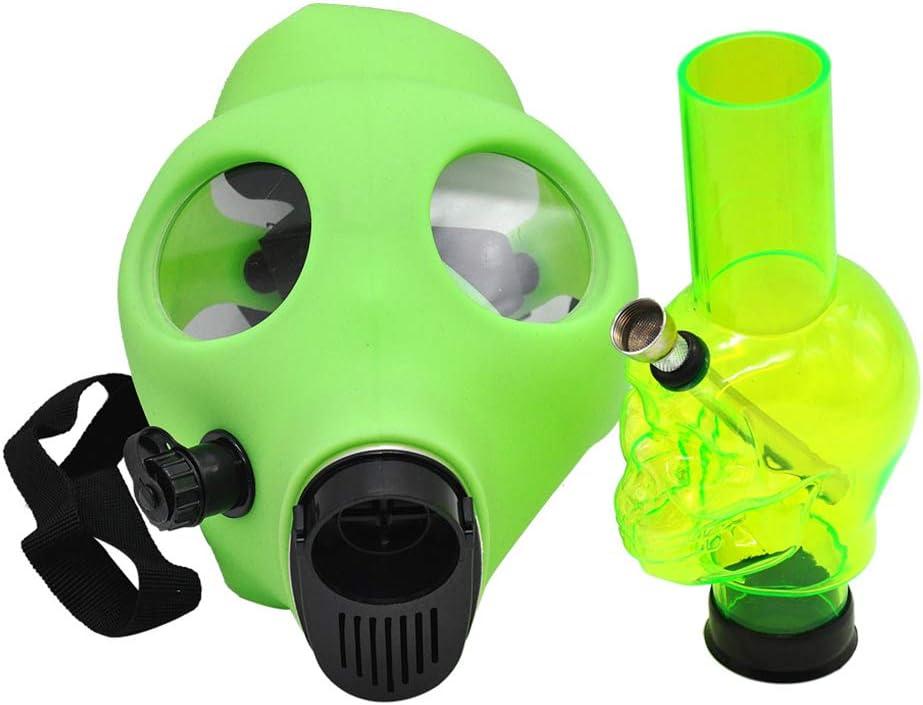 Forma De La Máscara Bong Cachimba Cachimba Silicio Cráneo Bong Para La Fiesta De Disfraces, Color De La Mezcla Mediano Tamaño, Color Enviado Aleatoriamente,Style 2