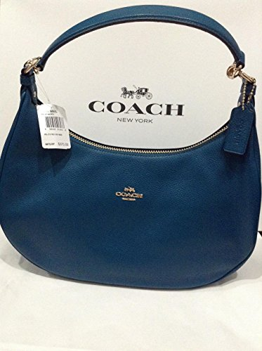 ... Bag Feed Sac Coach-Pebble-Leather-Harley-East-West-Hobo-in- Lexy  Shoulder ... 8dd86cbbb0e29