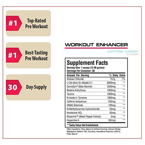Sheer Strength Labs Sheer Pre Workout Supplement - Cotton Candy - 30 Servings