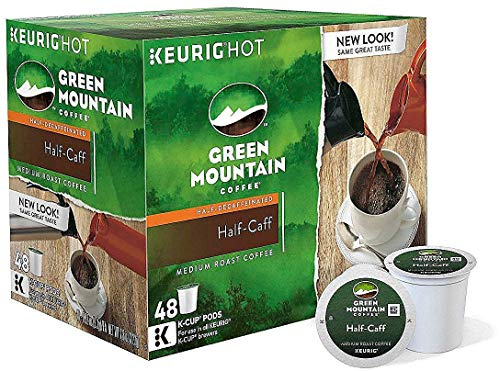 k cups green mountain half caff - 8