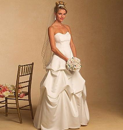 Butterick Schnittmuster 5184 Brautkleid – Bridal Hochzeit Kleid ...