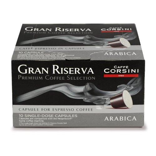 """80 Gran Riserva Premium Selection """"100% Arabica""""compatible Nespresso Machines"""