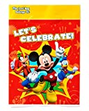 Mickey Mouse Clubhouse Treat Bags, Pack of 8, Party Supplies offers
