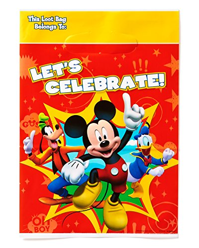 Danielles Crib Daisies (American Greetings Mickey Mouse Clubhouse Treat Bags, Pack of 8, Party Supplies)