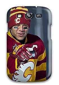 Galaxy High Quality Tpu Case/ Calgary Flames (56) EdMVprL8244vrqEI Case Cover For Galaxy S3