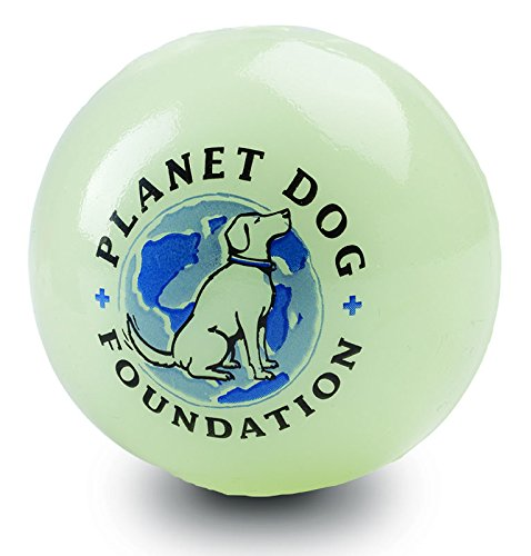 Planet Dog Orbee Tuff Glow for Good Durable Chew-Fetch Dog Ball, 100% of Proceeds to Charity, Made in the USA, Glow in the Dark, Give Back, Medium 2.5-Inch, Glow Review