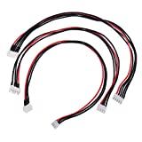 Homyl 3Pc 2S 3S 4S 300mm Lipo Balance Wire Extension Charged Cable Lead Cord Parts
