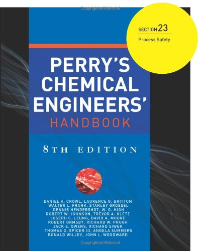 Perry's Chemical Engineers' Handbook 8/E Section 23:Process Safety