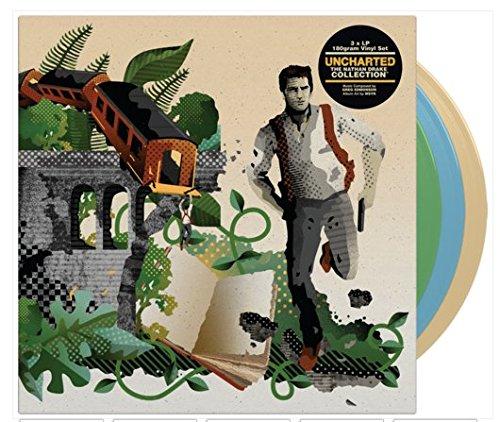 Price comparison product image Uncharted The Nathan Drake Collection Soundtrack 3 x LP 180 Gram Vinyl Set