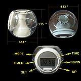 Electronic Alarm Clocks 2like 7 Color Light Nature Voice Alarm Clock Wake Up Light Clock Small Music Alarm Clock for Home Adult Kids Room Decor