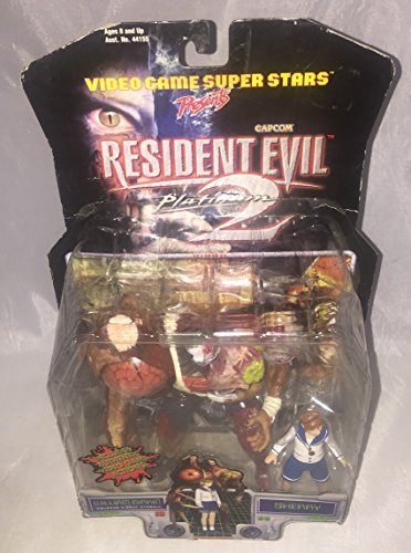 (Resident Evil 2 William Birkin and Sherry Action Figures)