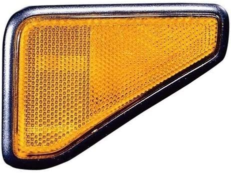for 2003-2008 Honda Element Side Marker Light Assembly // Lens Cover Driver Side 33851-SCV-A01 HO2550125 Replacement 2004 2005 2006 2007 Front Left Go-Parts