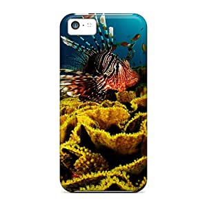 Premium Protection Underwater World Activity Cases Covers For Iphone 5c- Retail Packaging