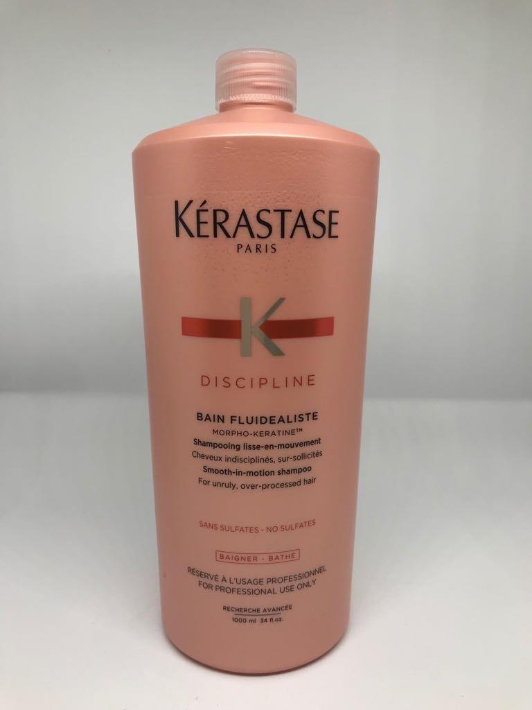 KERASTASE DISCIPLINE BAIN FLUIDEALISTE SIN SULFATO - 1000 ML. product image