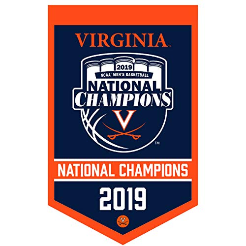 Virginia Cavaliers 2019 NCAA Mens Basketball National Champions Banner