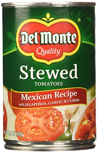 Del Monte Tomatoes, Mexican Stewed, 14.5 Ounce