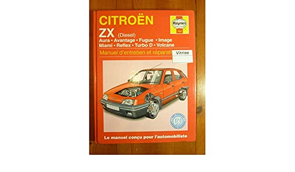 Citroen Zx Diesel (French service & repair manuals) (French Edition): 9781850109266: Amazon.com: Books