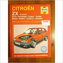 Citroen Zx Diesel (French service & repair manuals) (French Edition) (French) Paperback – December 31, 1995