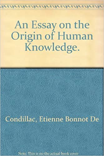 Amazoncom An Essay On The Origin Of Human Knowledge Language  An Essay On The Origin Of Human Knowledge Language Man And Society  English And French Edition French