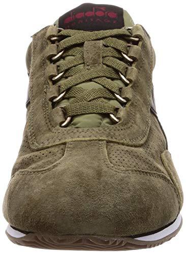 Sw Eu Uomo Sneakers Heritage 18 45 Verde Diadora Equipe S Pelle wRFf45vIq