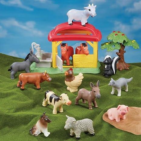 Amazon com: Animal Planet Farm Adventure Playset: Toys & Games