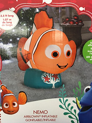 Gemmy Airblown inflatable 3.5ft. long Nemo holiday Christmas (Air Blown Inflatables)