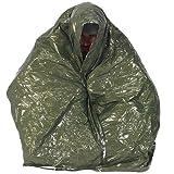 Pro Force Ndūr Emergency Survival Blanket, Olive /Silver