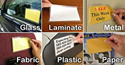 StoreSMART® Remove & Reuse - 25 Peel & Stick Pockets - 5 1/8\