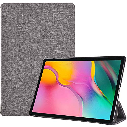 - ProCase Galaxy Tab A 10.1 2019 T510 T515 Case, Slim Light Cover Stand Hard Shell Folio Case for 10.1 Inch Galaxy Tab A Tablet SM-T510 SM-T515 2019 Release -Grey