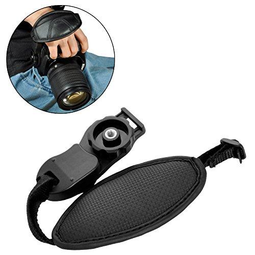 Portable Camera Leather Hand Grip Strap Wrist Strap Belt for DSLR SLR Camera Canon Nikon Sony Pentax Minolta Panasonic Olympus Kodak