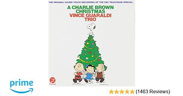 Accuradio Christmas.A Charlie Brown Christmas The Original Sound Track Recording Of The Cbs Television Special