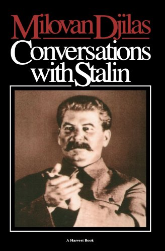 Conversation With Stalin by Milovan Djilas