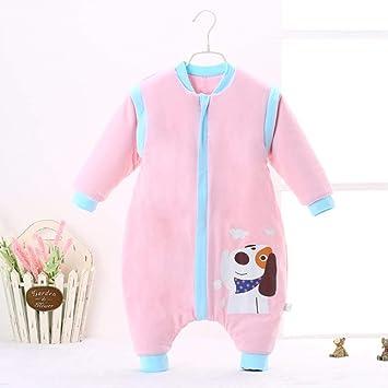 CWLLWC Saco de Dormir para bebé,Pijama recién Nacido de algodón Fino, Dividido en algodón, para Hombres y Mujeres, de 0-3 años: Amazon.es: Hogar