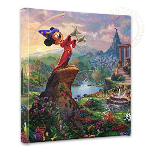 Thomas Kinkade 14x14 Gallery Wrapped Canvas Fantasia by Thomas Kinkade