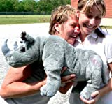 Big Plush Large Stuffed Rhino Rhinoceros with Mom Tattoo, 24 Inches