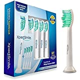 Philips Sonicare Toothbrush Heads (5 Pack) - By XpertSmile - Premium Quality Replacement Brush Heads Compatible With Most Philips Electric Toothbrush Models