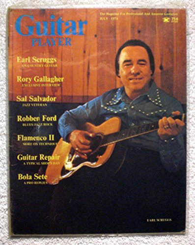 (Earl Scruggs - Guitar Player Magazine - July 1974 - Country Theme )